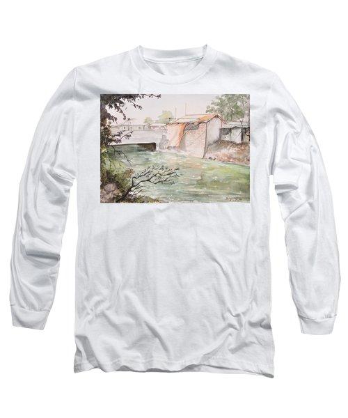 Through The Canal  Long Sleeve T-Shirt
