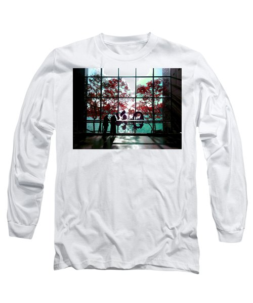 Through The Glass Long Sleeve T-Shirt