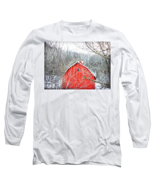 Long Sleeve T-Shirt featuring the photograph Through The Woods by Julie Hamilton