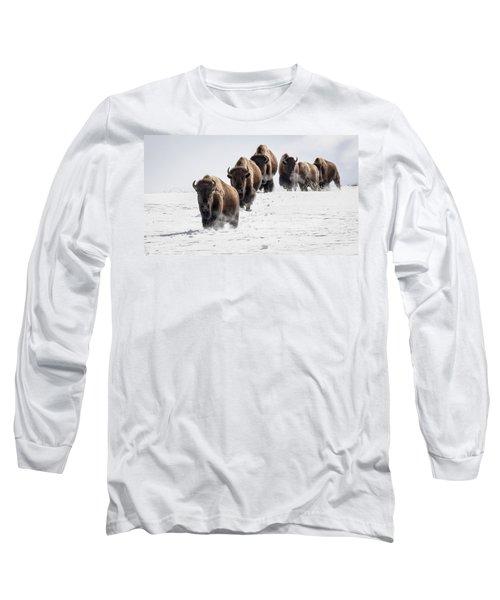 Thunderbeast Long Sleeve T-Shirt by Jack Bell