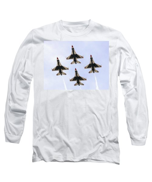 Thunderbirds Away Long Sleeve T-Shirt by Kevin Fortier