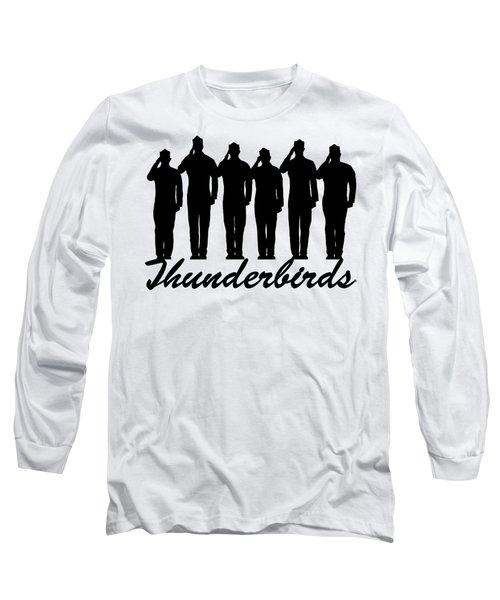 Thunderbirds Pilots Long Sleeve T-Shirt
