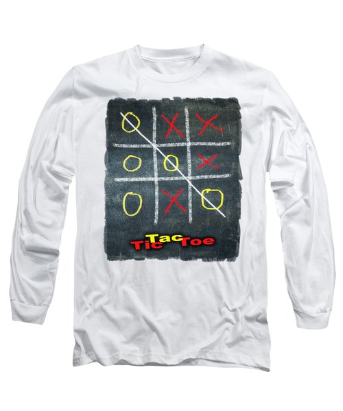 Tic Tac Toe Long Sleeve T-Shirt