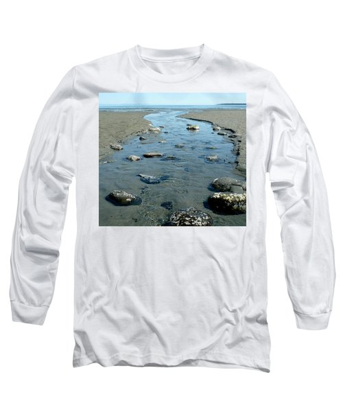 Long Sleeve T-Shirt featuring the photograph Tidal Pools by 'REA' Gallery