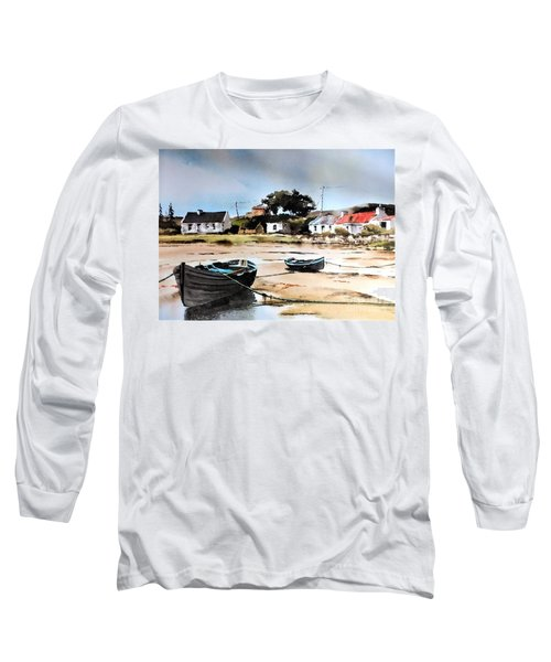 Tide Out In Erlak Roundstone Galway Long Sleeve T-Shirt