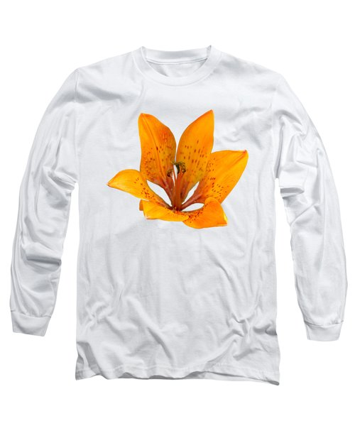 Tiger Lily 1 Trasparent Long Sleeve T-Shirt