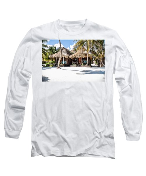 Tiki Huts Long Sleeve T-Shirt