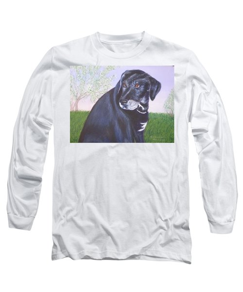 Tiko, Lovable Family Pet. Long Sleeve T-Shirt