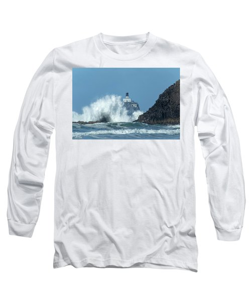 Tillamook Rock Light House, Oregon - Terrible Tilly Long Sleeve T-Shirt