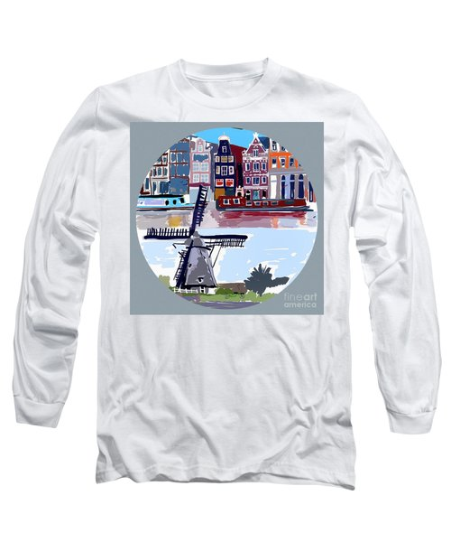 Tilting Windmills Long Sleeve T-Shirt