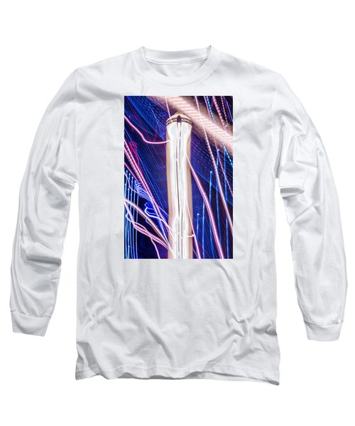 Time Dilation  Long Sleeve T-Shirt by Micah Goff