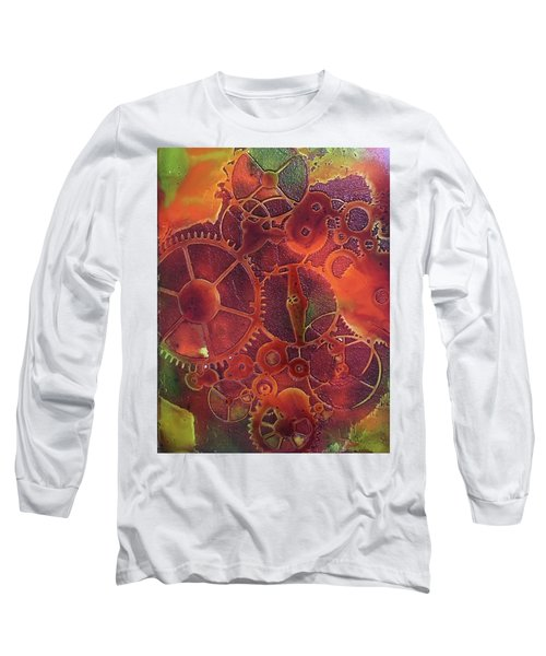 Time Marches On Long Sleeve T-Shirt by Suzanne Canner