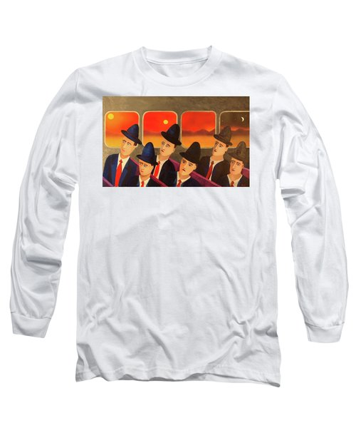 Time Passes By Long Sleeve T-Shirt by Thomas Blood