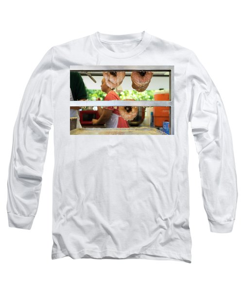 Time To Eat The Donuts Long Sleeve T-Shirt
