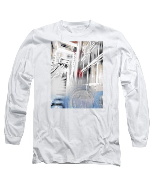 Time To Step It Up Long Sleeve T-Shirt by Susan Stone