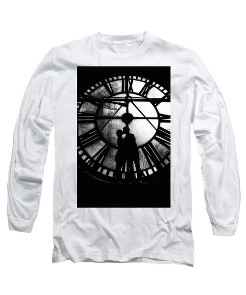 Timeless Love - Black And White Long Sleeve T-Shirt