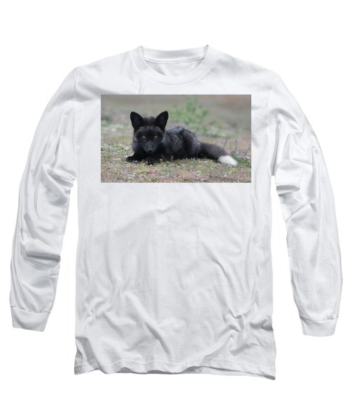 Long Sleeve T-Shirt featuring the photograph Here's Looking At You by Elvira Butler