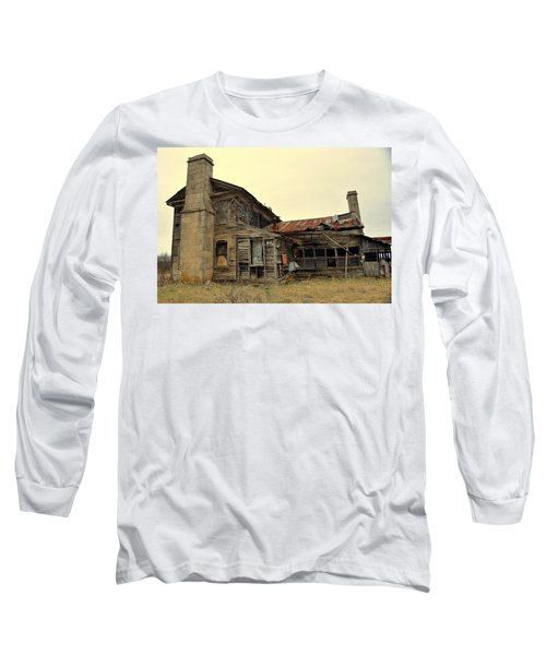 Long Sleeve T-Shirt featuring the photograph Times Past 2 by Marty Koch
