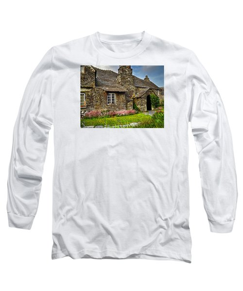 Tintagel Cottage Long Sleeve T-Shirt