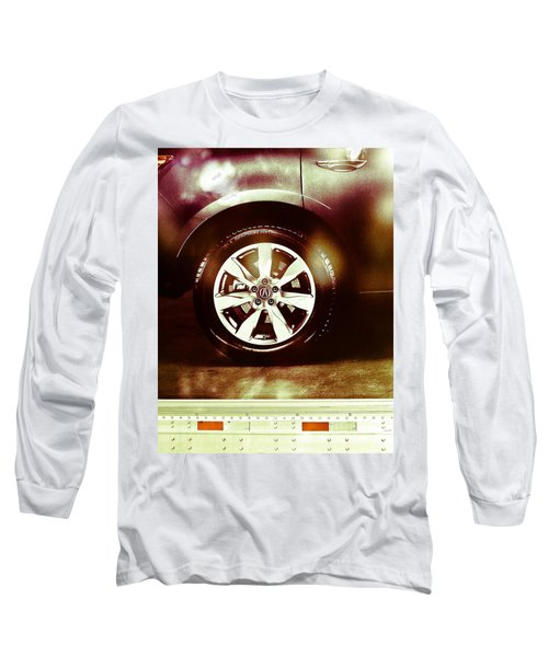 Tire Under The Moonlight Color Long Sleeve T-Shirt