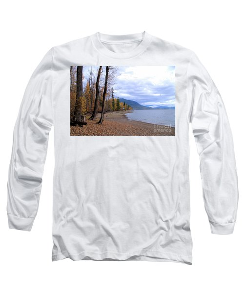 The Song Of October Long Sleeve T-Shirt by Victor K