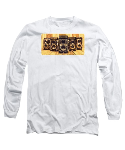 Tlr Group Long Sleeve T-Shirt by Keith Hawley
