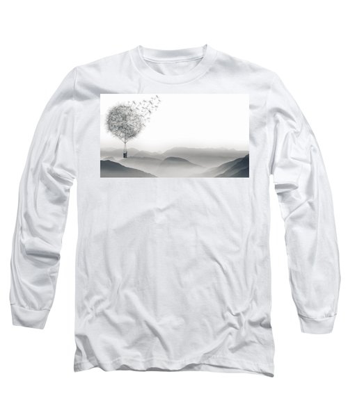 To Fly Only For A Moment Long Sleeve T-Shirt