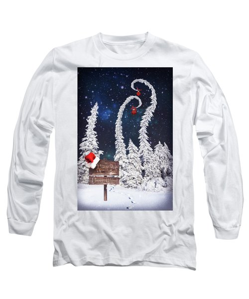 To The North Pole Long Sleeve T-Shirt