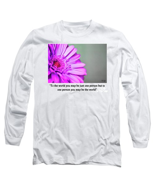 To The World Long Sleeve T-Shirt