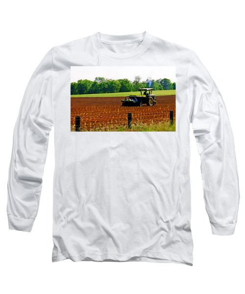 Tobacco Planting Long Sleeve T-Shirt