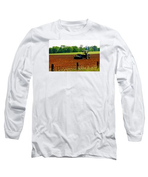 Tobacco Planting Long Sleeve T-Shirt