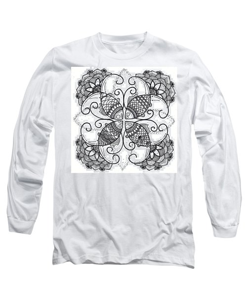 Together We Flourish - Ink Long Sleeve T-Shirt