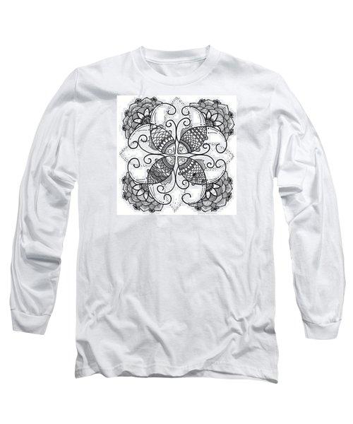 Together We Flourish - Ink Long Sleeve T-Shirt