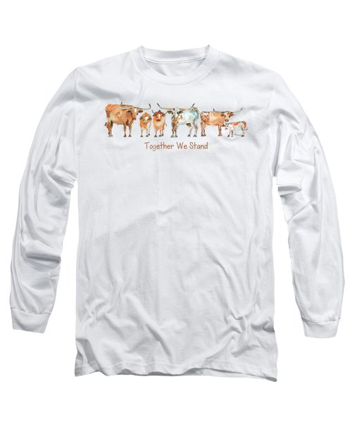 Together We Stand Lh013 Long Sleeve T-Shirt