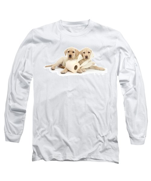 Toilet Humour Long Sleeve T-Shirt