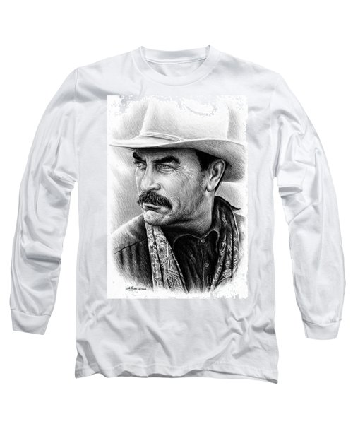 Tom Selleck Long Sleeve T-Shirt