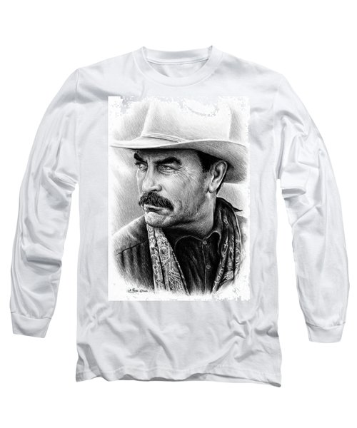 Tom Selleck As Monty Walsh Long Sleeve T-Shirt