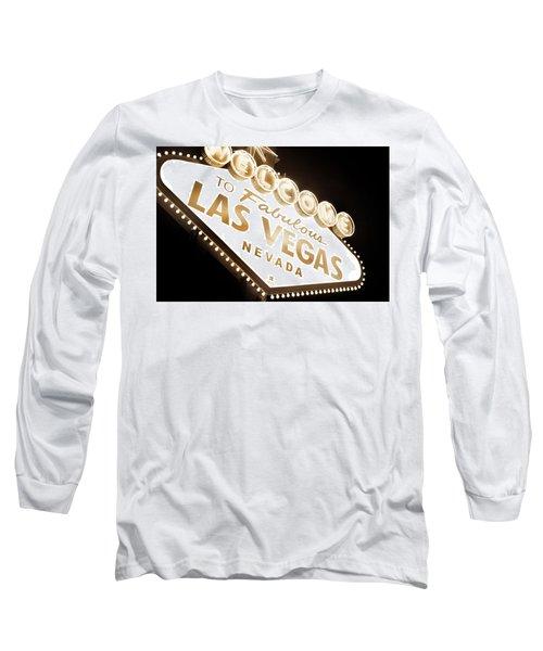 Tonight In Vegas Long Sleeve T-Shirt