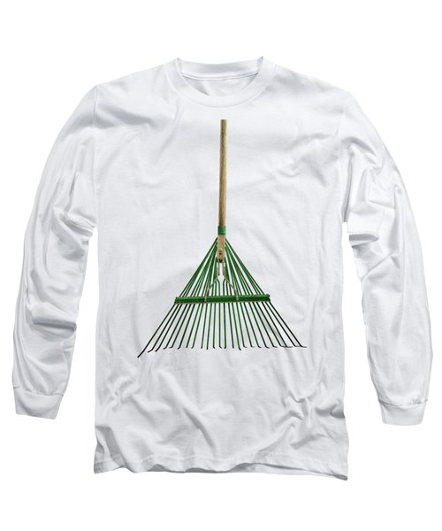 Tools On Wood 10 On Bw Long Sleeve T-Shirt by YoPedro