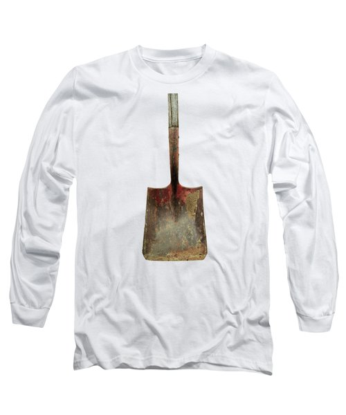 Tools On Wood 3 On Bw Plywood Long Sleeve T-Shirt