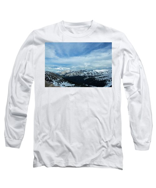 Top Of The Rockies Long Sleeve T-Shirt