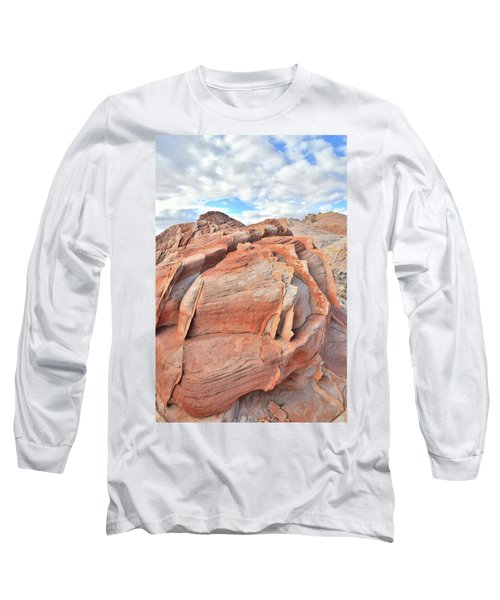 Top Of The World At Valley Of Fire Long Sleeve T-Shirt by Ray Mathis