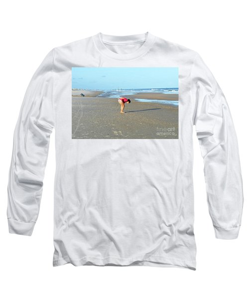 Topsail Island Beach Long Sleeve T-Shirt