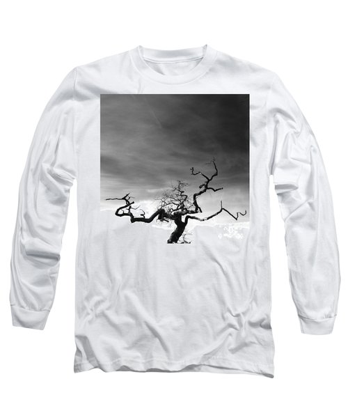Tormented In Grey Long Sleeve T-Shirt