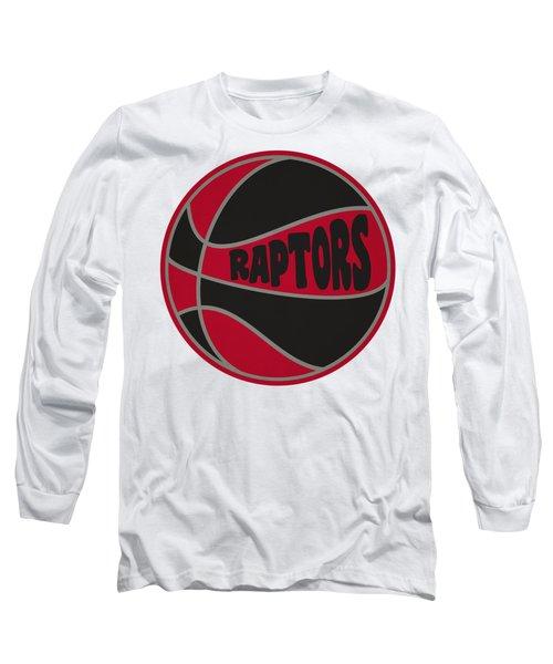 Toronto Raptors Retro Shirt Long Sleeve T-Shirt