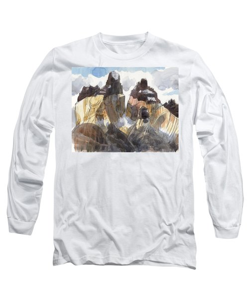Torres Del Paine, Chile Long Sleeve T-Shirt