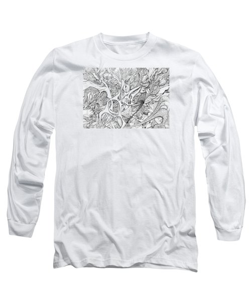 Tortuosity Long Sleeve T-Shirt by Charles Cater