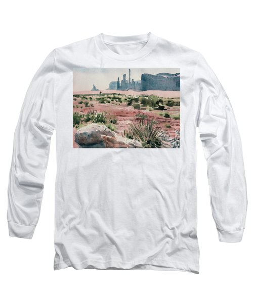 Totem Pole Long Sleeve T-Shirt by Donald Maier
