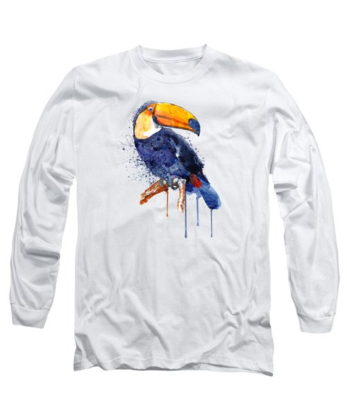 Toucan Long Sleeve T-Shirt by Marian Voicu