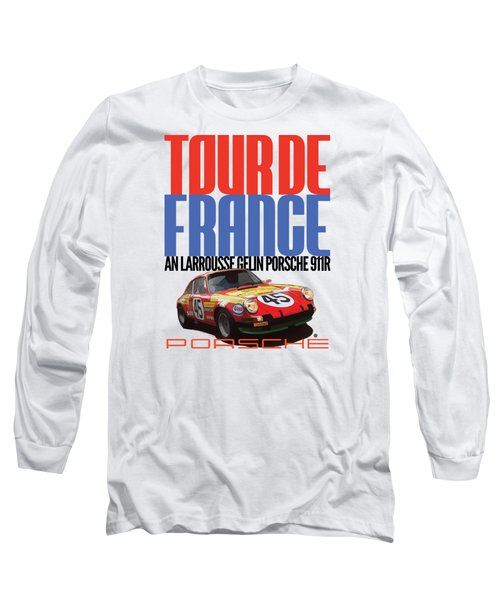 Tour De France Porsche Long Sleeve T-Shirt